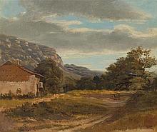 CALAME, ALEXANDRE(Vevey 1810 - 1864 Menton)Small