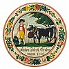 SWISS RUSTIC ART 1836(Switzerland 19th