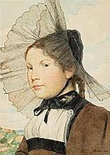 ANKER, ALBERT(1831 Ins 1910)Girl in Bernese