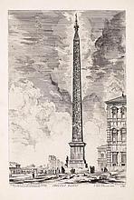 PIRANESI, GIOVANNI BATTISTA (Mogliano 1720 - 1778 Rome). Lot of 2