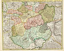 RUSSIA - UKRAINE.- Lot of 4 maps: 1. Seutter Matthaeus, Augsburg,