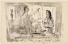 PICASSO, PABLO(Málaga 1881 - 1973 Mougins)La femme