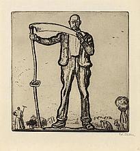 VALLET, EDOUARD(Geneva 1876 - 1929 Cressy)Le temps