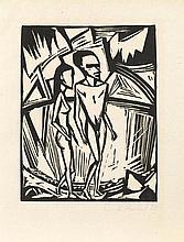 HECKEL, ERICH(Döbeln 1883 - 1970 Radolfzell)Zwei
