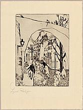 FEININGER, LYONEL(1871 New York 1956)The green