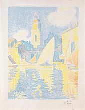 SIGNAC, PAUL(1863 Paris 1935)Saint-Tropez: Le