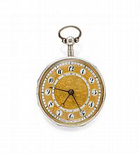 VERGE WATCH, 1/4 REPEATER WITH DATE, BREGUET à