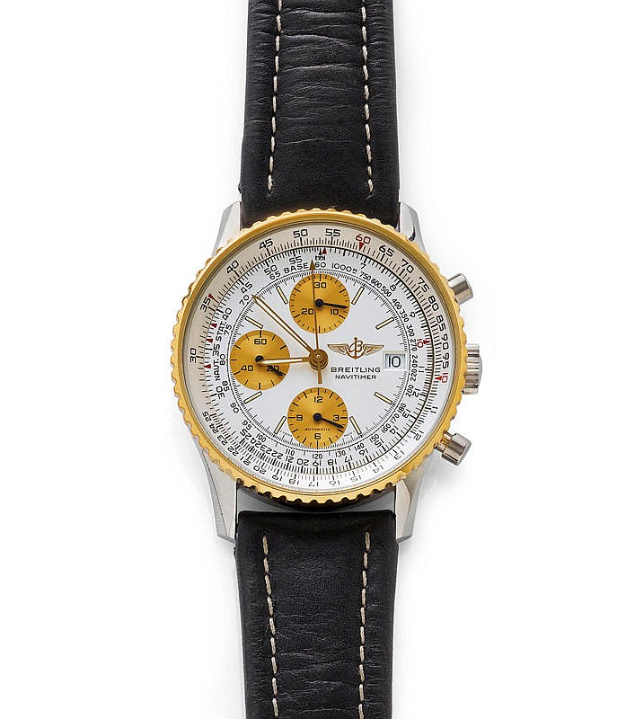 GENTLEMAN'S WRISTWATCH, CHRONOGRAPH AUTOMATIC,