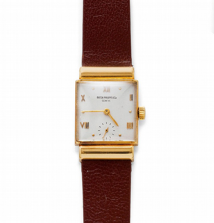 WRISTWATCH, PATEK PHILIPPE, 1940s.Yellow gold