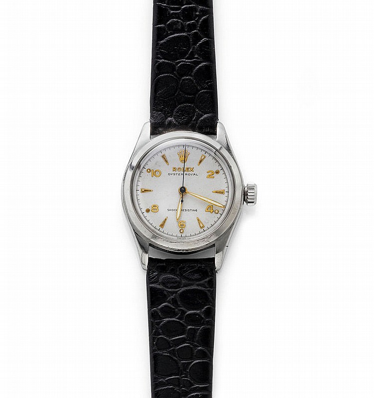 WRISTWATCH, ROLEX OYSTER ROYAL, 1940s.Steel.Ref.