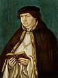 BASEL, UM 1520Bildnis eines Klerikers, ein Buch
