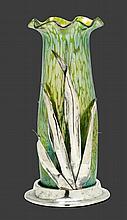 LOETZ, attributedVASE, c. 1900Green, iridescent