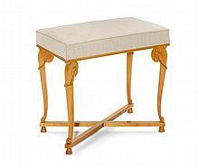 ANDRE ARBUS(1903 - 1969)PIANO HOCKER, Entwurf