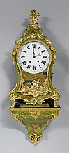 PAINTED CLOCK WITH CHIME ON PLINTH,Louis XV,