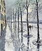 *COUDON, ROLAND Paris. Öl auf Leinwand. 73 x 60 cm.