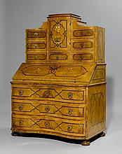 TABERNACLE WRITING DESK,Baroque, Germany or