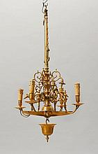 CHANDELIER, late Baroque, Holland, 19th