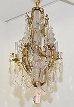 CHANDELIER,in the style of the 18th century.Brass