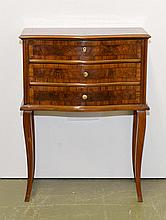 SMALL COMMODE,late-Baroque, Berne, 19th