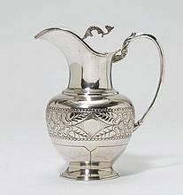 WATER PITCHER,19th/20th century.Rounded body, on a