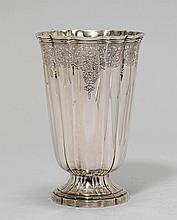 VASE,Portugal, 20th century.Conical vessel with