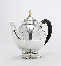 TEA POT,Zurich, 20th century. Maker's mark