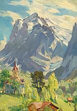 HODEL, ERNST(Bern 1881 - 1955 Luzern)Grindelwald