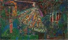 HERBST, ADOLF(Emmen 1909 - 1983 Zürich)Fächer.Öl