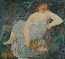 HERBST, ADOLF(Emmen 1909 - 1983 Zürich)Frau in