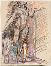 GUBLER, MAX(1898 Zürich 1973)Stehender weiblicher