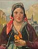 HODEL, ERNST(Bern 1881 - 1955 Luzern)Porträt einer