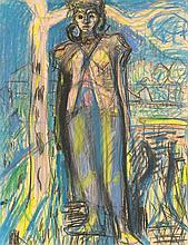 GUBLER, MAX(1898 Zürich 1973)Stehende weibliche