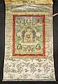 A THANGKA OF SHAKYAMUNI.Tibet, 19th c. 60x41 cm.