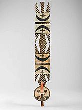 BOBO MASKEBurkina Faso. H 197 cm.Provenienz: