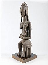 BAMANA FIGURMali. H 113 cm.