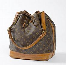 LOUIS VUITTON. SAC Noé en toile Monogramm. LOUIS