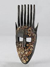 BAMANA MASKE Mali. H 36 cm. Provenienz: - Franco