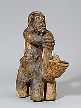 BOZO FIGUR Mali. H 23 cm. Terrakotta. Provenienz: