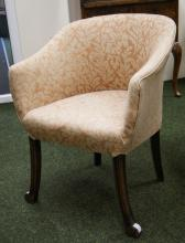 1920's upholstered tub chair
