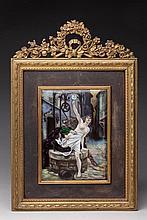D'après DEBAT-PONSAN Edouard peintre d'histoire (1847-1913)