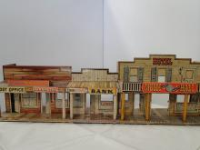 ROY ROGERS MINERIAL CITY TOWN MARX TOYS 1950'S