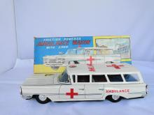 FRICTION AMBULANCE WAGON 10