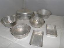CHILDS TIN COOKWARE 7PC