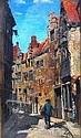 Frank Bramley RA (1857-1915) - A street in