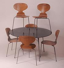 Arne Jacobsen for Fritz Hansen - A 1950s lacquered