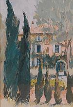 Anthony Atkinson ARCA (b.1929) - Villa at Le