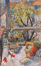 John Livesey (1926-1990) - Still life at the
