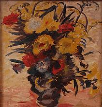 Vera Cunningham (1897-1955) - Autumn flowers still