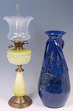 A large Brannam Art Nouveau pottery vase,