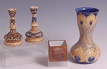A William Moorcroft Florian ware Art Nouveau